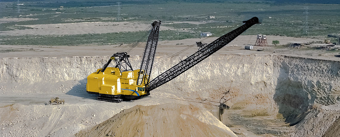 Draglines İdeal Makina